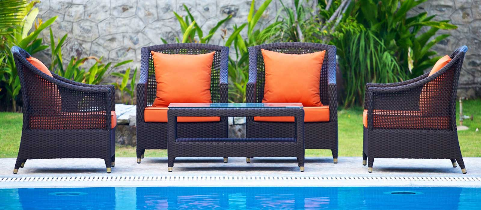 Wicker furniture Manufacturers in Daman