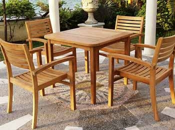 Outdoor Teak Furniture Manufacturers & Suppliers in Karnataka